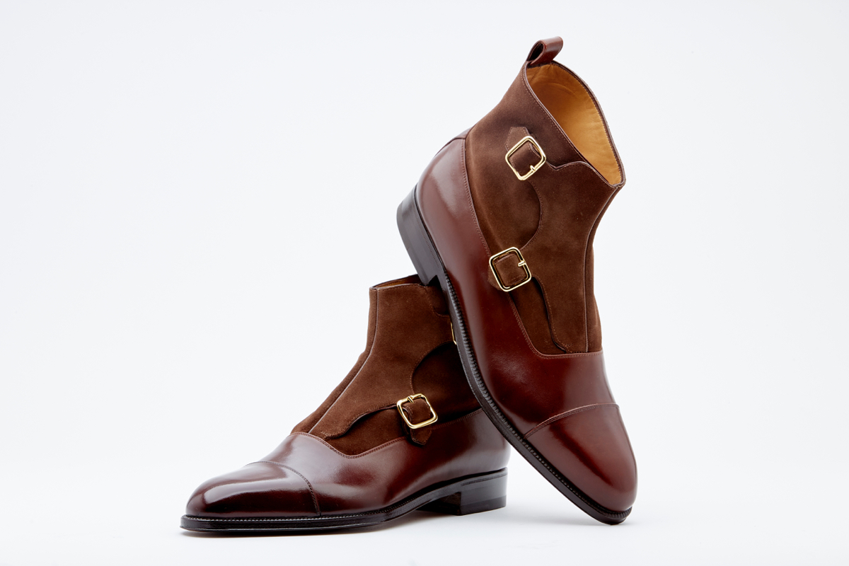 Double monk boot 3994