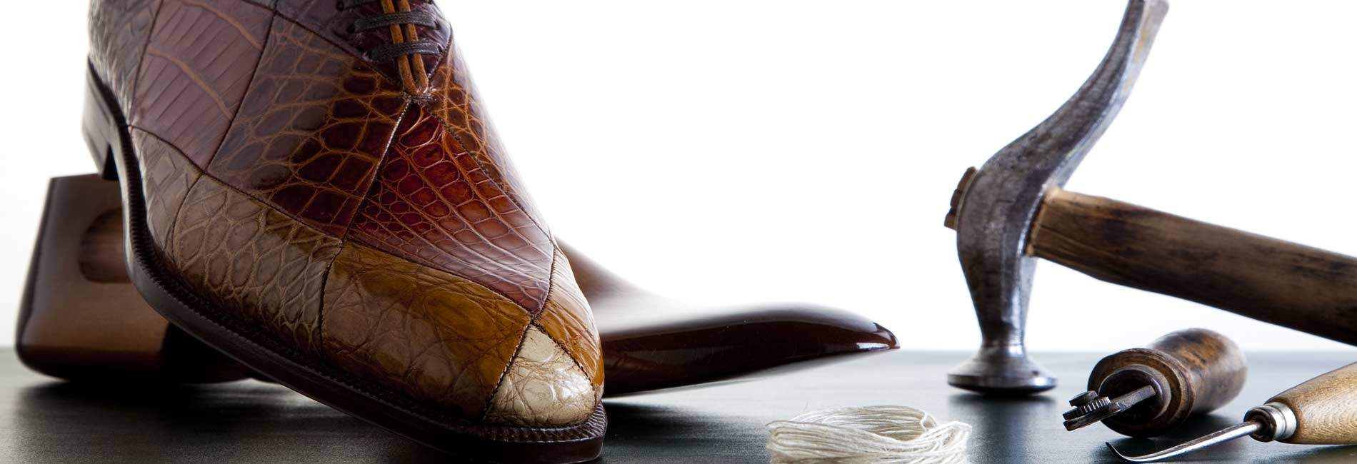 Only the best leather for our handmade shoes