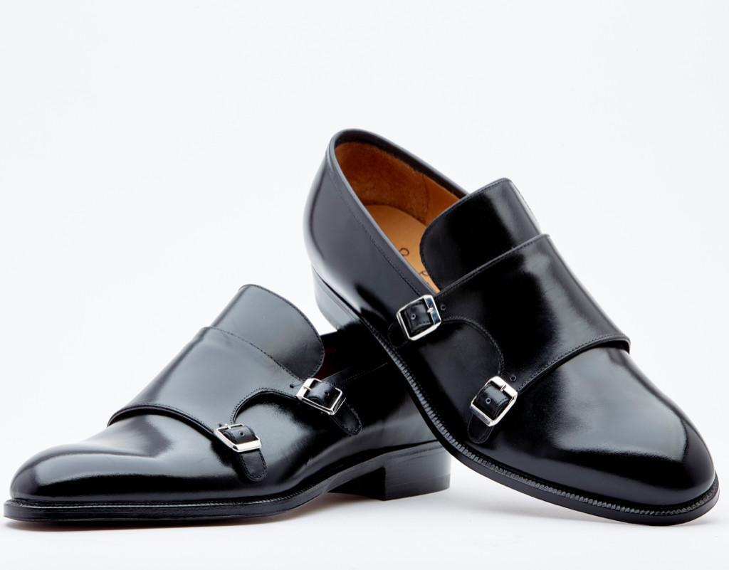(Italiano) Pantofola Con Doppia Fibbia.